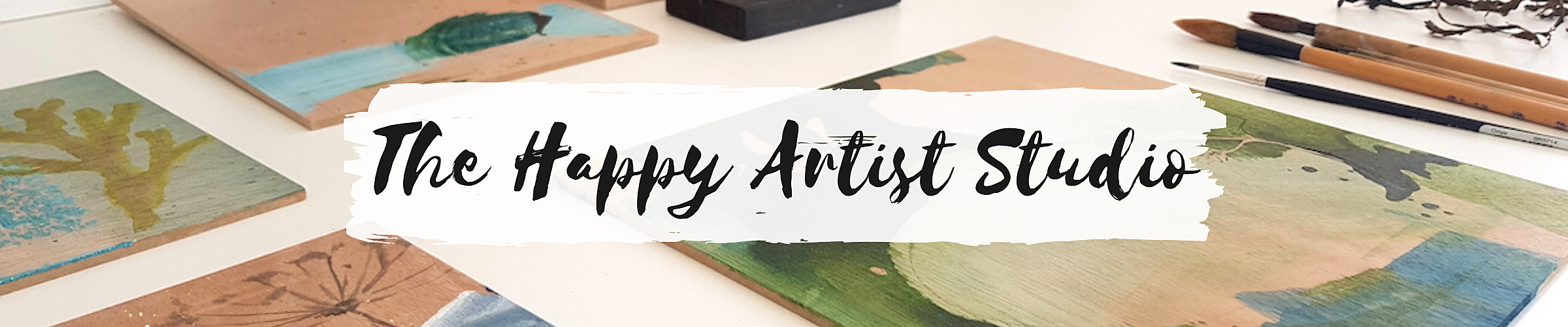 Cover the happy artist studio  1