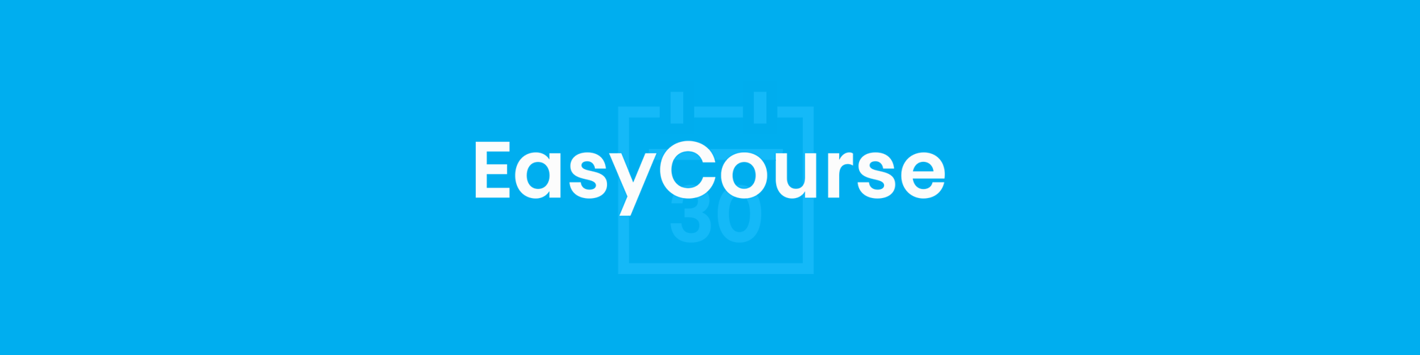 Cover easycourse header short