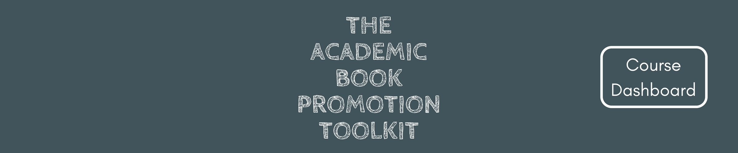 Cover the academic book promotion toolkit header 2