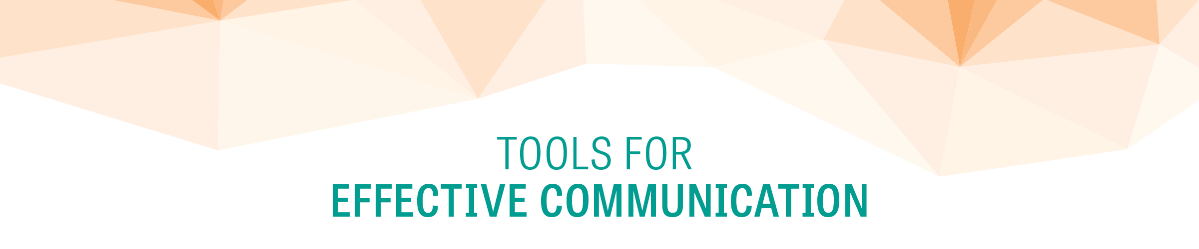 Cover header tools for effective comm