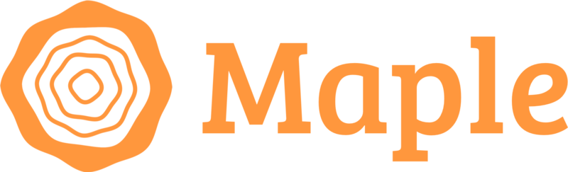 Payment image maple orange logo