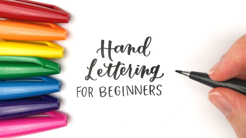 Payment image hand lettering for beginners