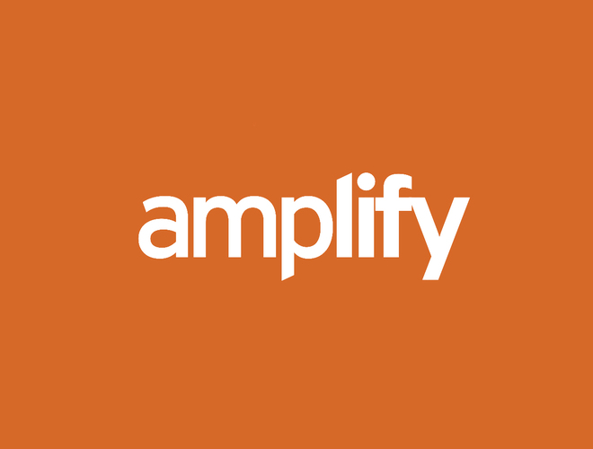 Cover amplify new reversed logo