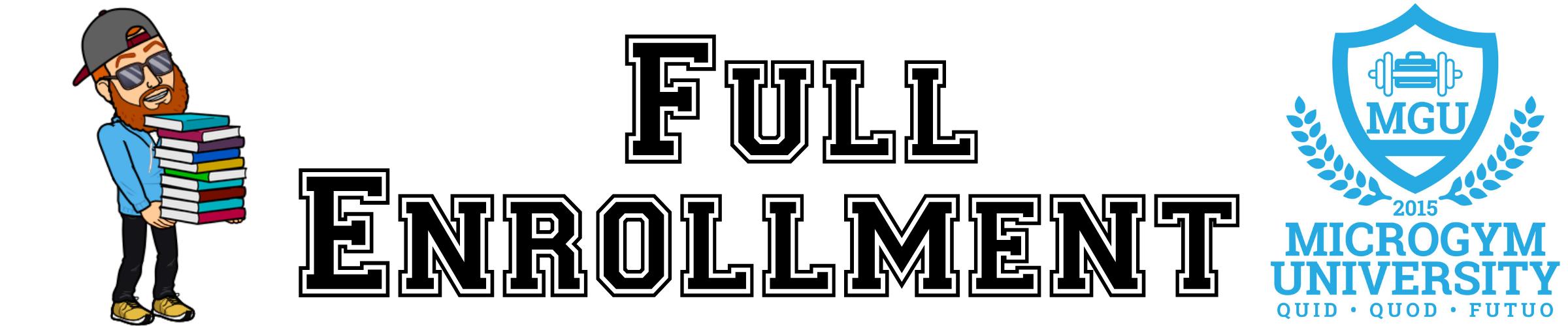 Cover full enrollment