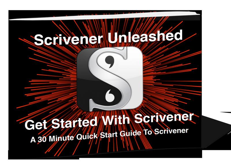Screenshot scrivener quick start